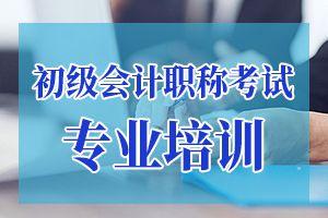 2019年初级会计职称《会计实务》章节练习题(1)