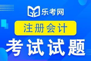 注册会计师考试《审计》练习题(一)