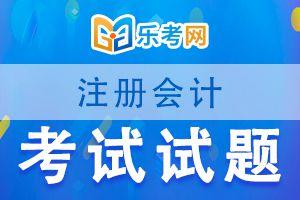 注册会计师考试《审计》练习题(二)