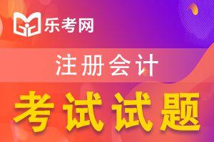 注册会计师考试《审计》练习题(三)
