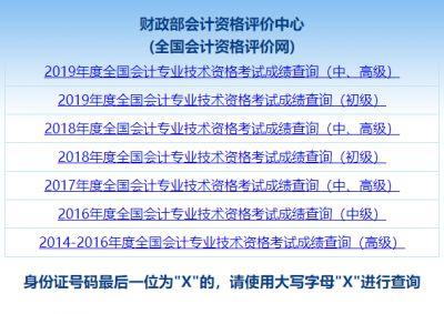 2020年海南省中级会计职称考试成绩查询时间10月17日前公布